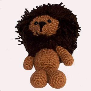 Muñecos amigurumis leon
