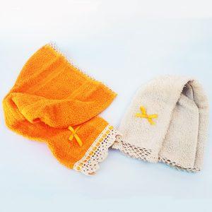 toallita de mano bordada